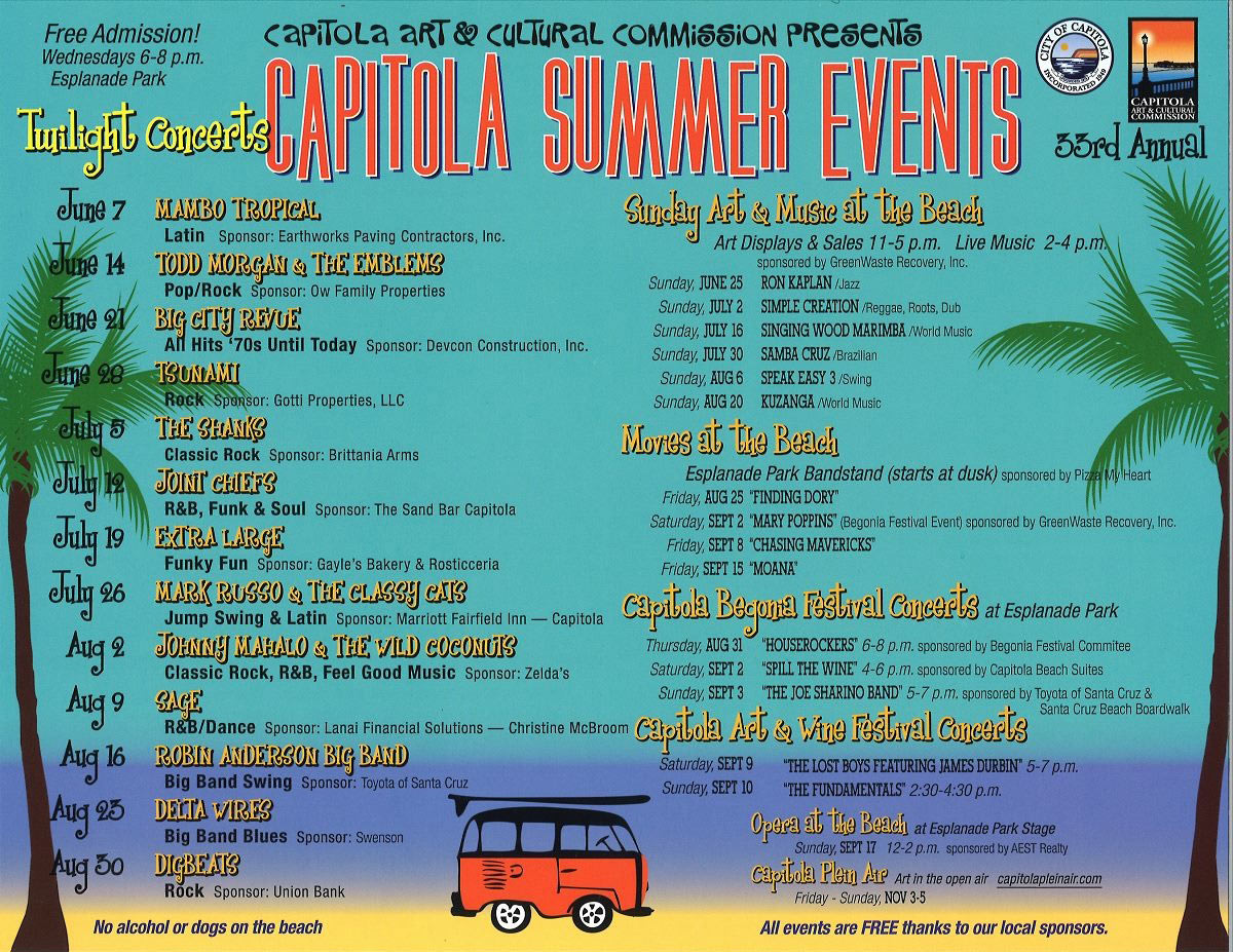 Capitola-Summer-Events