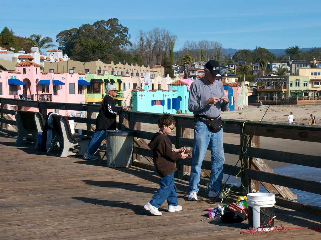Fishing Capitola Pier - Capitola Soquel Chamber of Commerce Capitola, CA