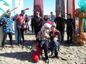 Surfing Santa - Capitola Soquel Chamber of Commerce Capitola, CA