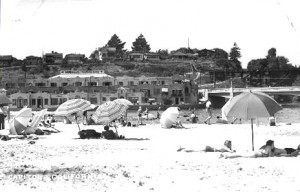 A day at Capitola Beach circa 1930