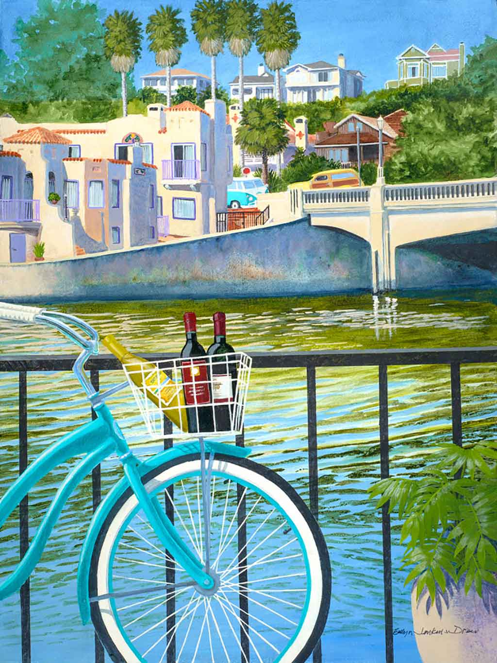 Beach Cruisers poster art opt - CA