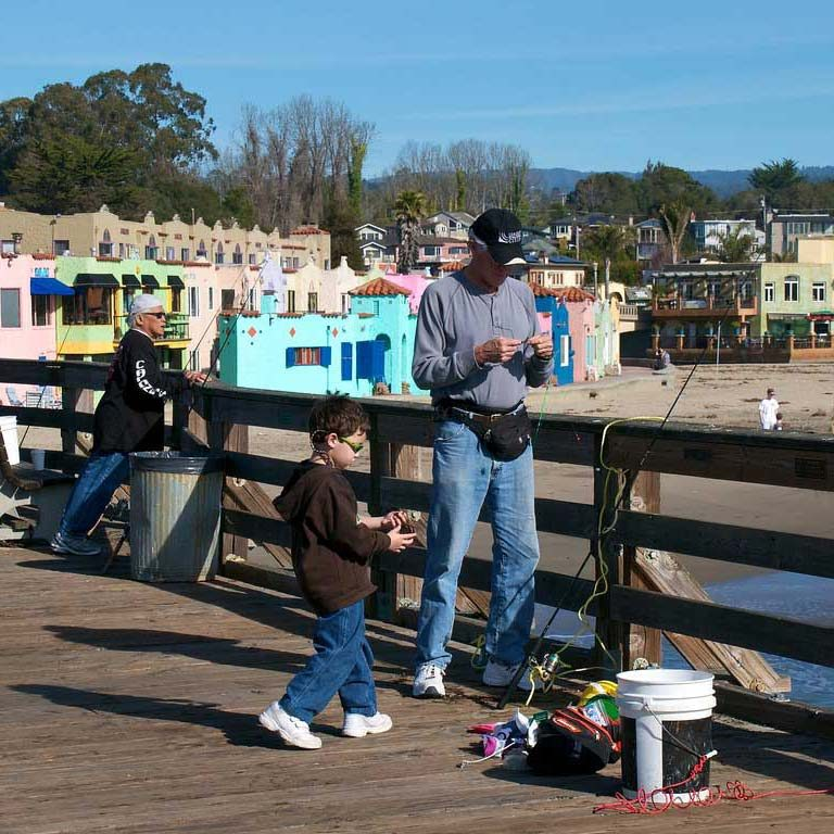 Fishing Capitola Pier SQ - Capitola-Soquel Chamber of Commerce